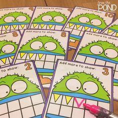 Ten Frame Addition - Monster Style!