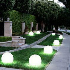 Back Garden Design, Backyard Garden Design, Garden Landscape Design, Modern Landscaping, Backyard Landscaping, Back Gardens, Outdoor Gardens, Modern Gardens, Led Garden Lights