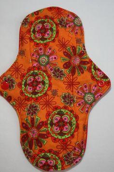 Kiki Mama Cloth Menstrual Pad Regular Size by Lupy4You on Etsy, $6.98
