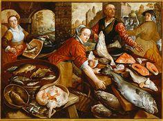 Fish Market by Joachim Beuckelaer