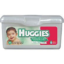 "Huggies Natural Care Baby Wipes with Tub - Kimberly Clark Corp. - Toys ""R"" Us ($2.99)"