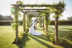 Tie the knot within Cain Manor's beautiful country garden. Cain Manor, Manor Garden, Hampshire, Surrey, Real Weddings, Wedding Venues, Reception, Wedding Dresses, Beautiful