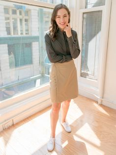 Women's Travel Wrap Skirt: Secure Pockets For Your Travels