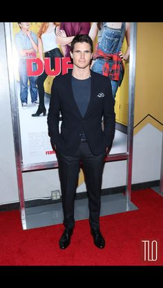 Robbie-Amell-The-Duff-New-York-Movie-Premiere-Red-Carpet-Fashion-Menswear-Tom-Lo. - Robbie-Amell-The-Duff-New-York-Movie-Premiere-Red-Carpet-Fashion-Menswear-Tom-Lorenzo-Site-TLO - New York Movie, Hunter Parrish, Mary Johnson, Tyler Posey, O Reilly, Daniel Radcliffe, Famous Last Words, The Duff, Red Carpet Fashion