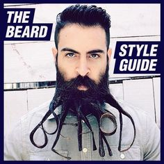The GentleManual Offers Advice On How to Style Your Facial Hair #lifestyle trendhunter.com
