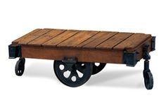 Bassett Mirror Co. Factory Cart Table - BM2-12RT