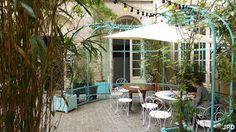 Paris-bise-art : Jardin municipal au Crédit municipal