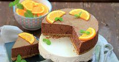 Aprende a preparar Tarta mousse de chocolate y naranja con las recetas de Nestle Cocina. Elabórala en casa con nuestro sencillo paso a paso. ¡Delicioso! #NestleCocina