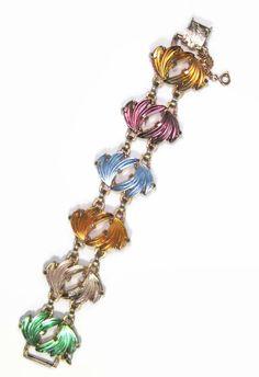 Vintage Judy Lee Bracelet Gold Tone Bright & by PSSimplyVintage