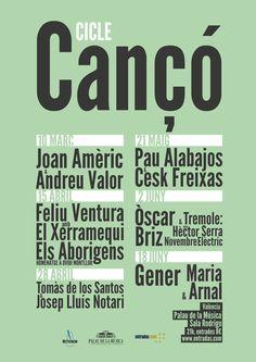 Cicle Cançó – palau de la música valencia « Miquel Andrés