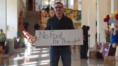 One simple act, twice a month.   Responsible engagement in action at @Concordia College via No Food for Thought. Get involved: http://nofoodforthought.org/ #cordmn