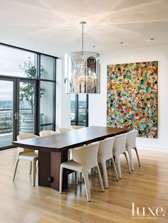 Modern Moves: Portland Penthouse Celebrates Artists   LUXE Source