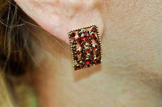 Monet Gold Hoop Magnetic Earrings Clip On Earrings Designer