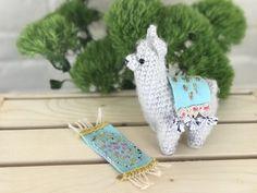 My latest fuzzy llama amigurumi : crochet