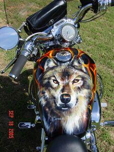 Custom Paint Job Harley Davidson LOVE IT!!!!! ❤️❤️