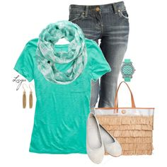 """Spring Mint"" by lagu on Polyvore"