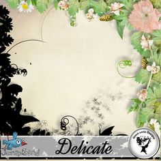 Delicate - Overlay and mask by Black Lady Designs