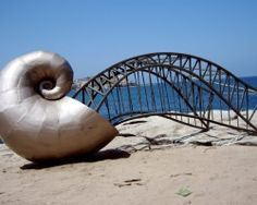'The Mollusc that ate the Harbour Bridge', Dan Stewart-Moore, Sculpture by the Sea, 2007