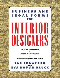 Download PDF Business and Legal Forms for Interior Designers