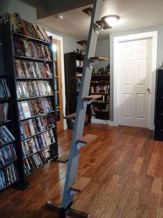 space saving loft ladder