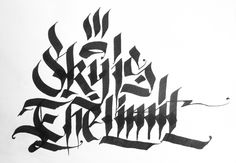 calligraphical