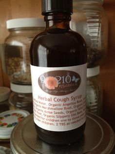 DIY Herbal Cough Syrup #realfoodoutlaws #90210organics
