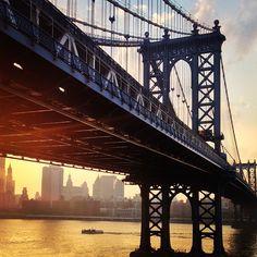 Manhattan Bridge // Photo by brandenharvey