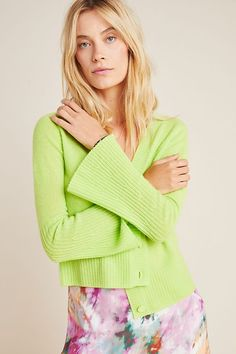 Neon Cashmere Cardigan by Charli in Yellow Size: Xs, Women's Sweaters at Anthropologie Source by anthropologie clothes going out Vintage Fashion 1950s, Victorian Fashion, Vintage Hats, Boho Outfits, Fall Outfits, Boho Fashion, Autumn Fashion, Fashion Scarves, Christian Dior Couture