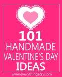 101 tutoriais de produtos feitos a mão para o Dia dos Namorados !