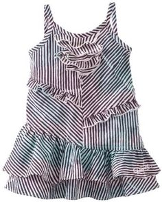 Amazon.com: Diesel Baby-Girls Infant Dedeab Color Striped Woven Tank Dress: Clothing