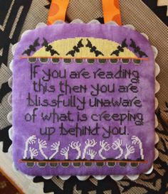 Halloween Themed Cross Stitch Patterns