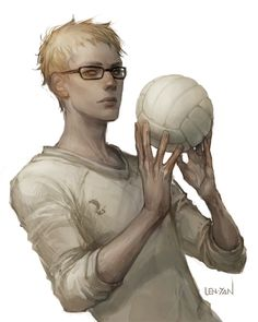 tsukishima by Len-yan.   Hi everyone! So almost at the 500 followers mark and thought it was time I introduced myself. From here on out I'm go to search for unique artist that you might like. I want to help expand people's library and as a fellow artist we can learn a thing or two from the professionals.