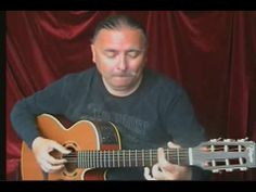Igor Presnyakov on acoustic guitar.  Amazing.  Over 6 million You Tube views and counting.