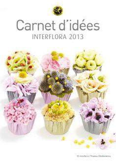 Cupcake de fleurs avec Interflora