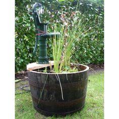 Viskitynnyri 60 cm rautapumppu Feng Shui, Aqua, Led, Plants, Water, Plant, Planets