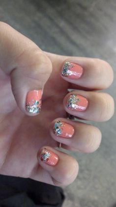 Nails of the day - glitter bomb