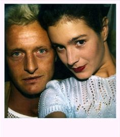 Rutger and Sean : polaroids : Blade Runner (1982)