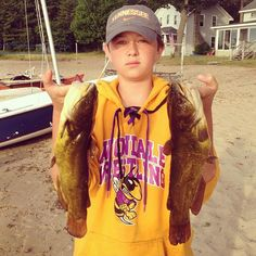 "Successful night fishing for cats! Yellow Bullhead Catfish, ""ButterCats"""