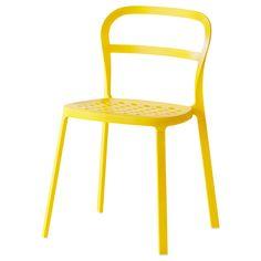 REIDAR Stuhl - gelb - IKEA