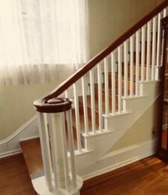 Best Change Carpet Wrapped Stairs With Wood End Caps Home 400 x 300