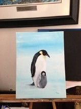 My first penquin My Arts, Arts And Crafts, Painting, Paintings, Draw, Art And Craft, Crafts, Drawings, Art Crafts