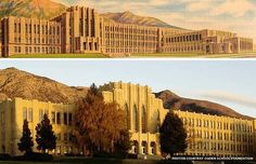 Instead of demolishing their Art Deco, Depression Era high school, the community of Ogden, Utah, decided to restore it.