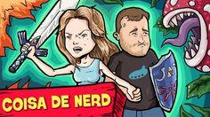 5 MELHORES GAMES PRA JOGAR DE 2 (feat. Nilce)