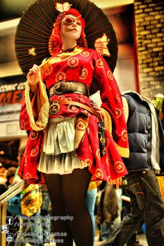 Steampunk Geisha Cosplay London MCM by TMProjection on DeviantArt Steampunk Costume, Steampunk Clothing, Steampunk Fashion, Gothic Fashion, Retro Fashion, Asian Steampunk, Doug Mcclure, Geisha Art, Mori Girl Fashion