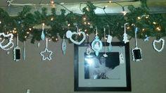 "Onze ""kerst-trap-lamp"""