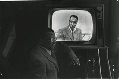 Billy Strayhorn & Duke Ellington by Gordon Parks, 1960.