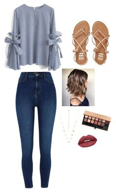 Chicwish, billabong, kendra scott, anastasia beverly hills and huda beauty jeans Jeans Outfit Summer, Cute Outfits For School, Cute Casual Outfits, Outfits For Teens, Spring Outfits, Outfit Jeans, Winter Outfits, Gymnasium Outfits, Jean Outfits