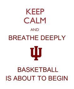 College basketball needs to hurry up!!! Hoo hoooo HOOSIERS