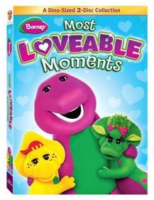 Lionsgate & Hit Entertainment - Barney: Most Loveable Moments 2-Disc Collection