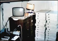 The 'Apple 1' in Steve Job's bedroom.